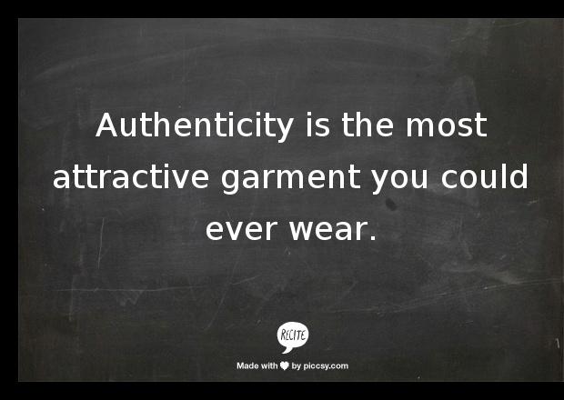 . Ta dah! #quotes #create #authenticity