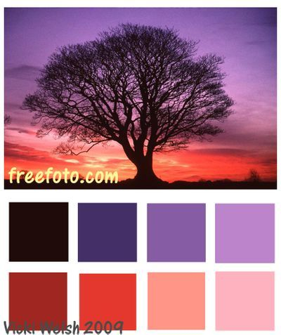 Beautiful sunset color palettes for your sunset wedding theme.     www.hawaiianweddings.net  #Purplewedding  #Sunsetwedding  #Sunsetcolors  #Hawaiiwedding