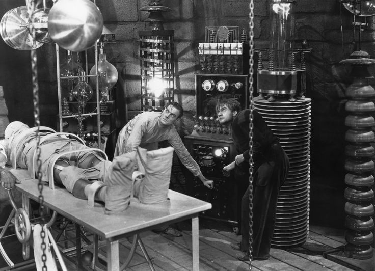 """This storm will be magnificent. All the electrical secrets of Heaven. And this time we're ready, eh Fritz? Ready."" (Frankenstein, 1931)"