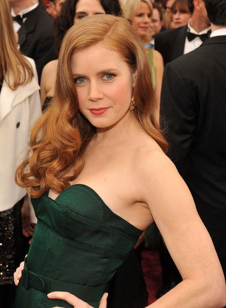 Amy Adams. Hello deep emerald. Hello Autumn Earth.