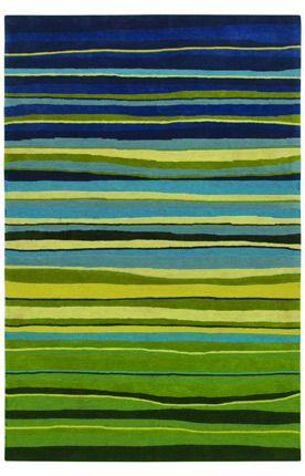 Shaw Loft Candy Stripes Green Rug $299