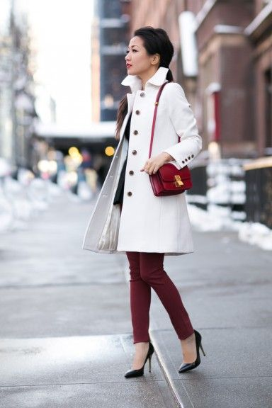 Winter Runway :: Ivory coat
