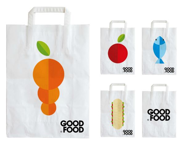 GOOD FOOD by Joaquín Martínez de Salas, via Behance