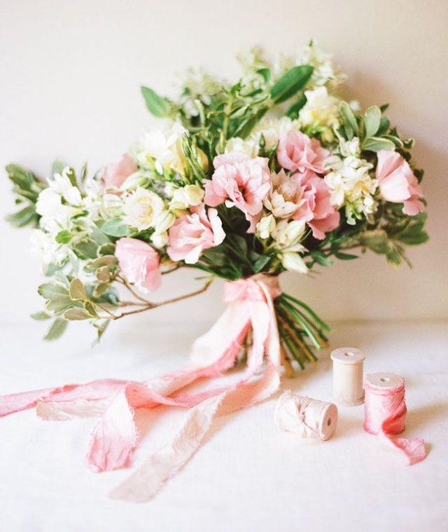 long bouquet ribbon