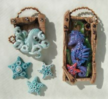 The Friesen Project - Under Sea Creatures by Laurie Grassel on KatersAcres Blog