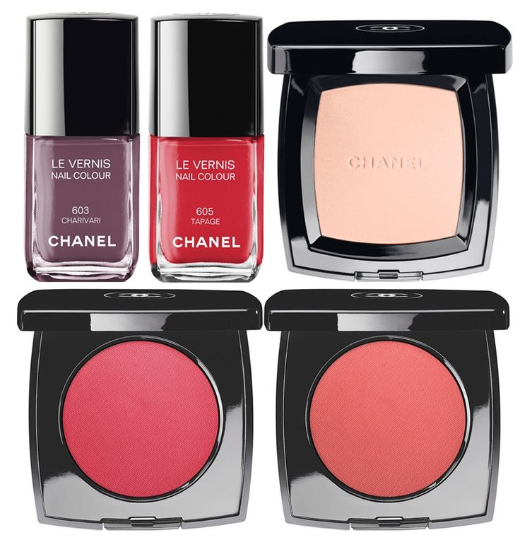 Chanel  Notes De Printemps Makeup Collection for Spring 2014 nails and face
