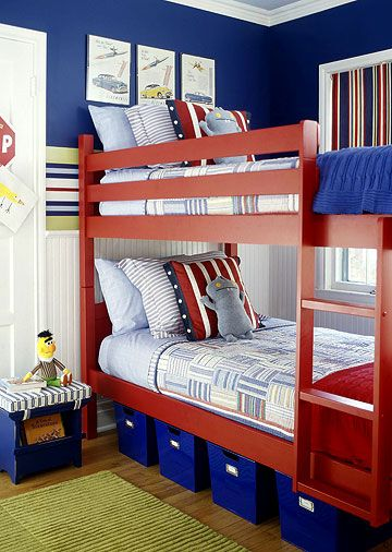 Boys Bedroom - A Scheme to Grow