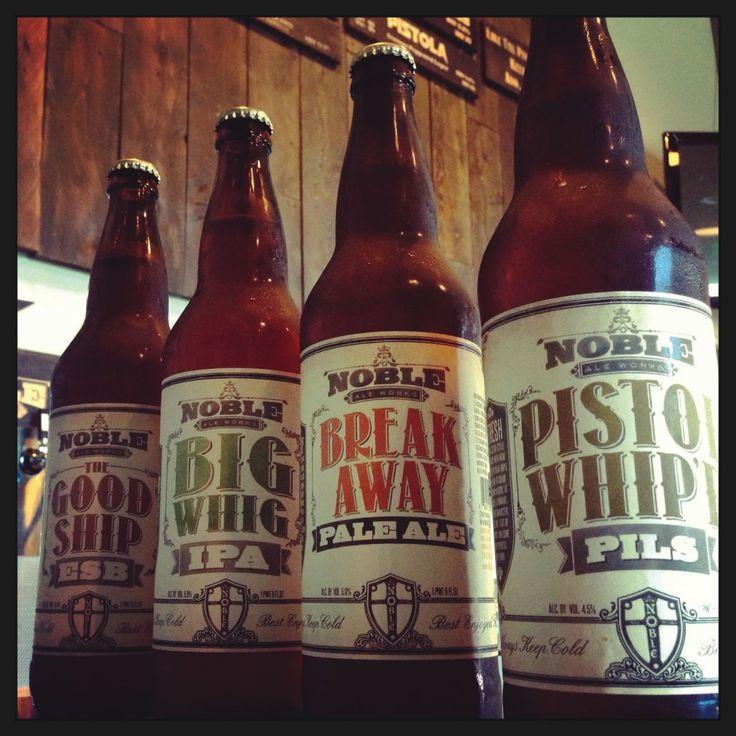 Image result for noble ale works menu