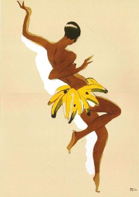 Joséphine Baker  « L'affiche doit être un télégramme adressé à l'esprit. » Paul Colin