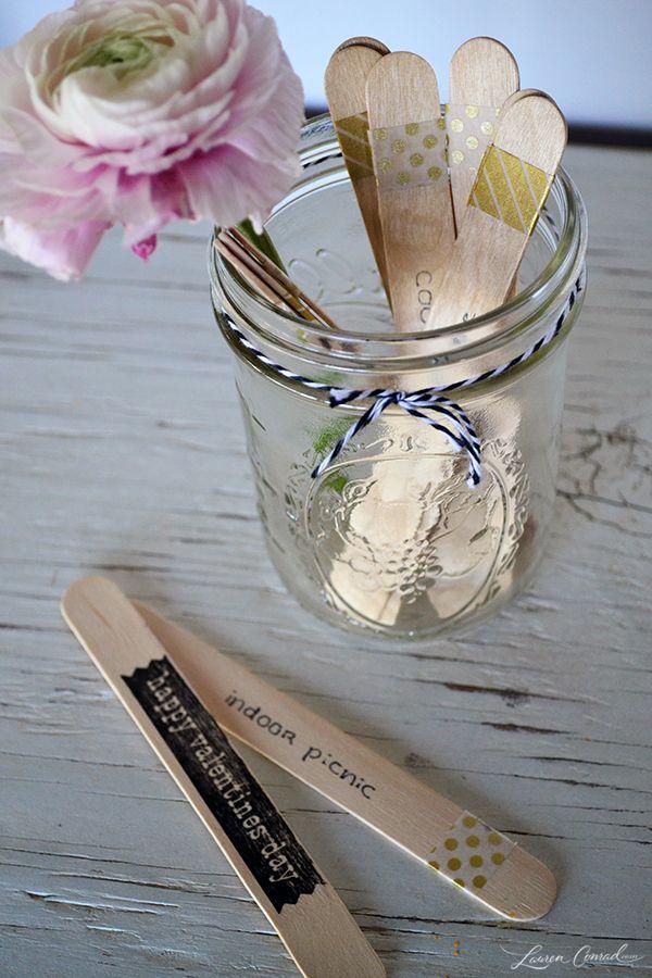 Cute Valentine's Day Craft: DIY Date Ideas in a Jar