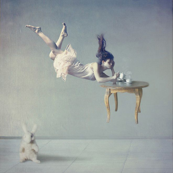 "Moscow raised and StPete based awesome artist and photographer Anka Zhuravleva invites you to be mesmerized by her latest photo-artwork series ""Distorted Gravity""."