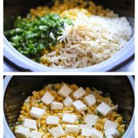 Slow Cooker Corn and Jalapeno Dip by Damn Delicious