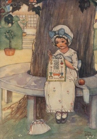 Mabel Lucie Attwell - Embroidery