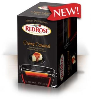 Red Rose Simply Indulgent Teas Crème Caramel. Perfect for these cold winter days. #SimplyInduldge #JadoreVoxBox