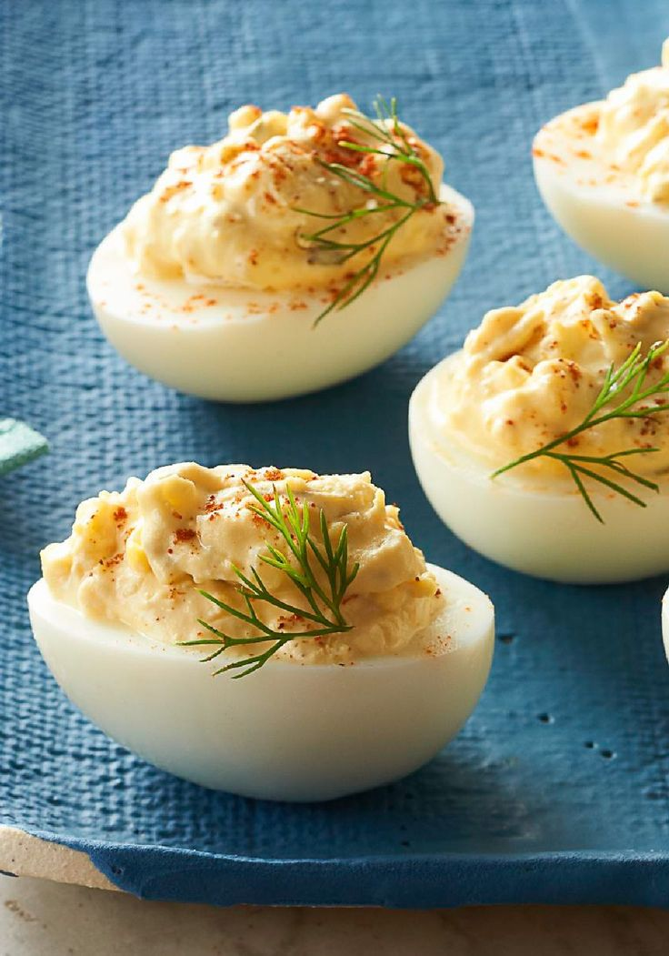 The Best Deviled Eggs – These really are the Best Deviled Eggs. A dash of cayenne pepper makes them exceptionally devilish, too.