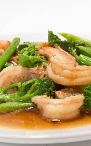 Ginger Shrimp & Broccoli Stir Fry