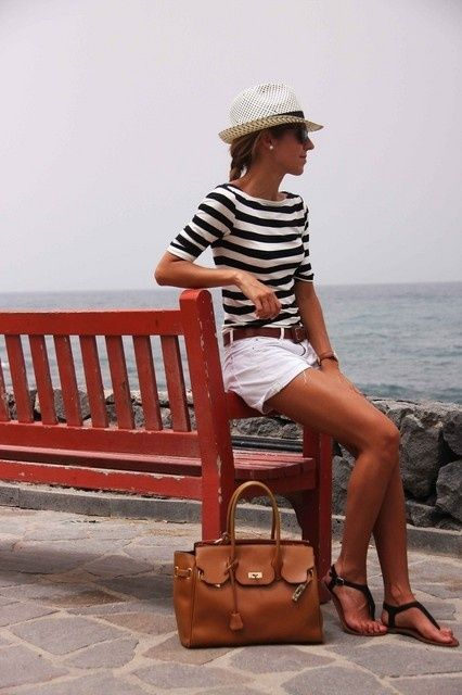 Love the stripes for summer!