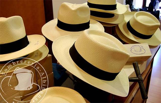 Sombreros en Sombrerería Albiñana
