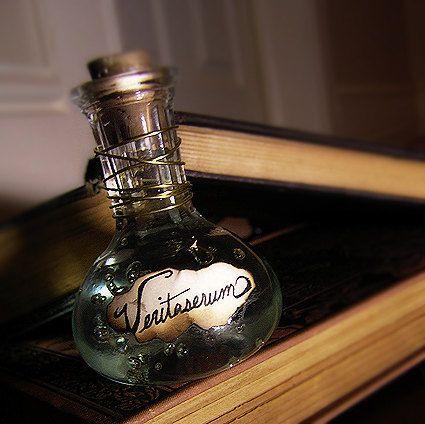 Veritaserum  Harry Potter Potion Bottle by esanany on Etsy, $20.00