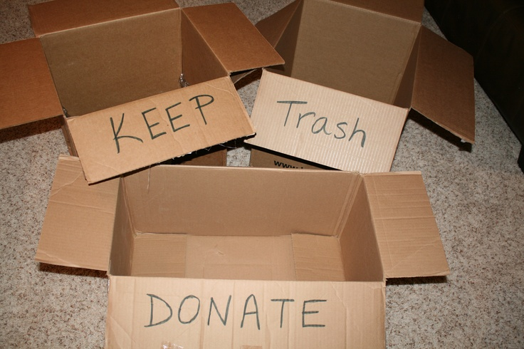 Be ruthless and thorough. Sort your clutter into one of the following categories: keep, trash or donate. Use AtticMaxx to organize what you keep.