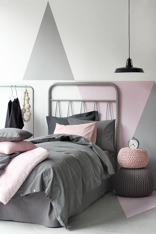 Triangles on the wall <3