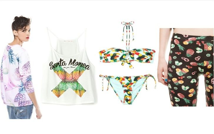 Tendencia Tropical Bershka