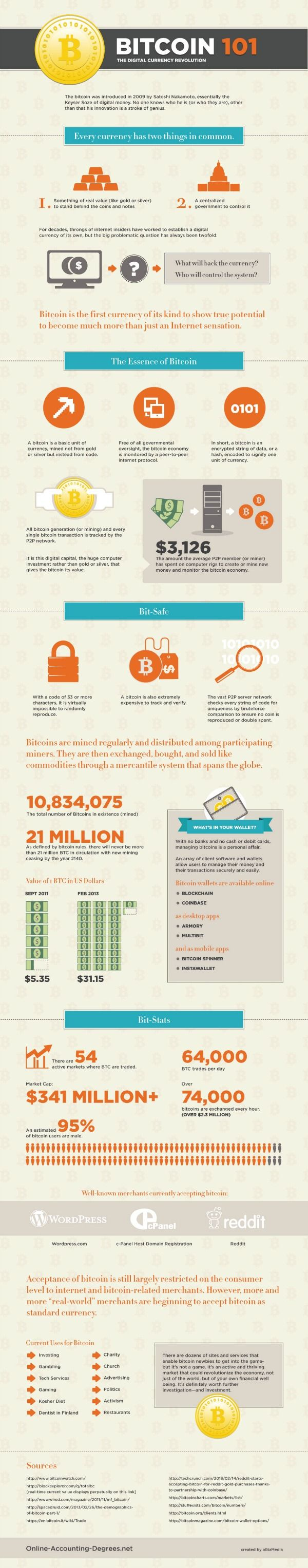 Bitcoin 101 infographic- I still don't really understand