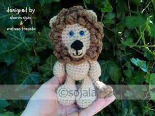 Amigurumi Bigfoot Lion : Weekly Gathering: 10 Free Animal Amigurumi Crochet ...