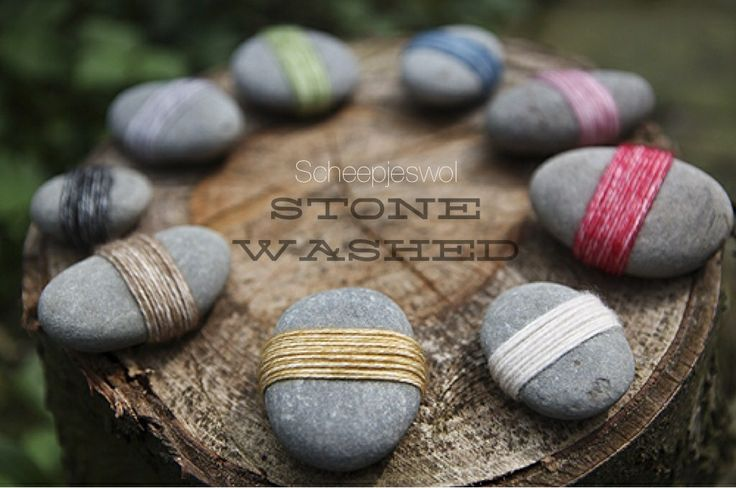Scheepjes Stone Washed on Pinterest