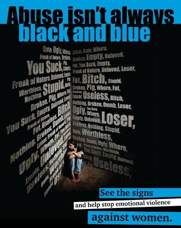 Abuse isn't always black and blue...verbal, psychological & emotional abuse...Surviving the Narcissist.