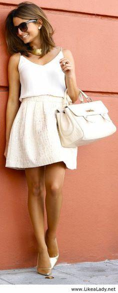 Fashionista: Incredible White Dress