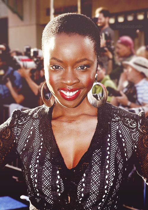 Danai Gurira- one beautiful badass!!!