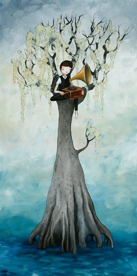 en lo alto del árbol (by Graham Franciose)