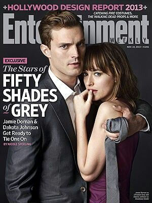 First glimpse of Christian and Anastasia.