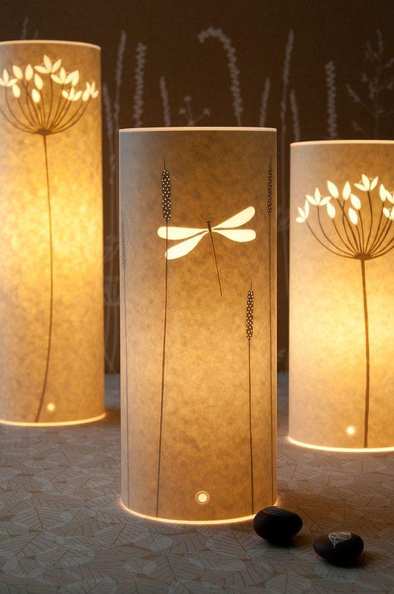 Small Dragonfly lamp by Hannahnunn on Etsy, $105.00