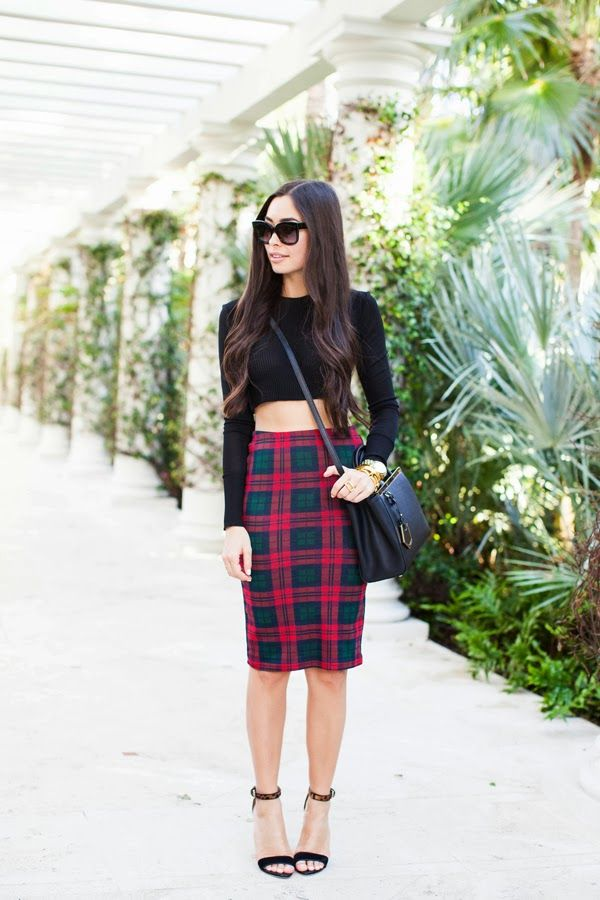 How to Wear: Crop Tops via @Lauren Dailey-Conrad.com