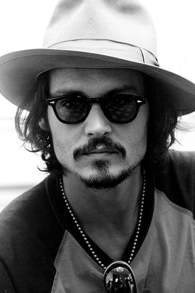 Jonny Deep with mustache :)