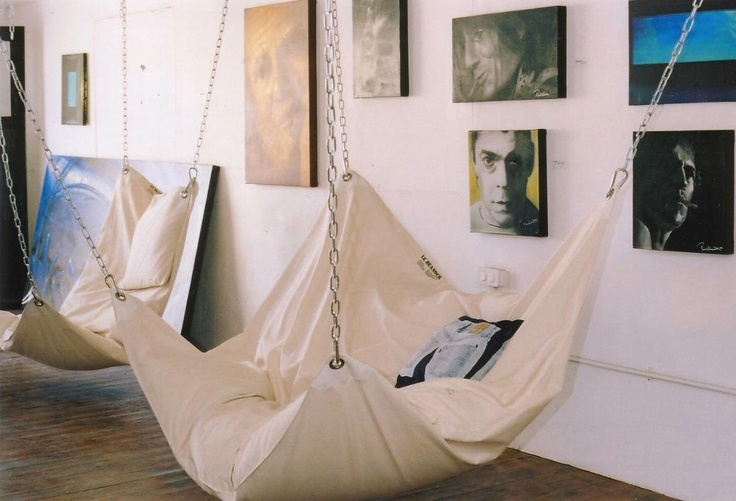 hammock chair to curl up in with a good read