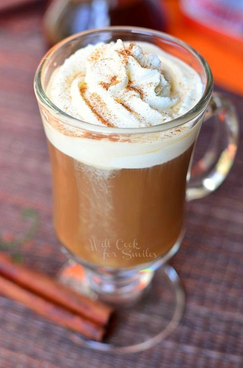 Cinnamon Dolce Coffee Drink {Homemade Cinnamon Dolce Syrup}