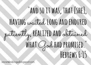 Hebrews 6:15 (Patience)