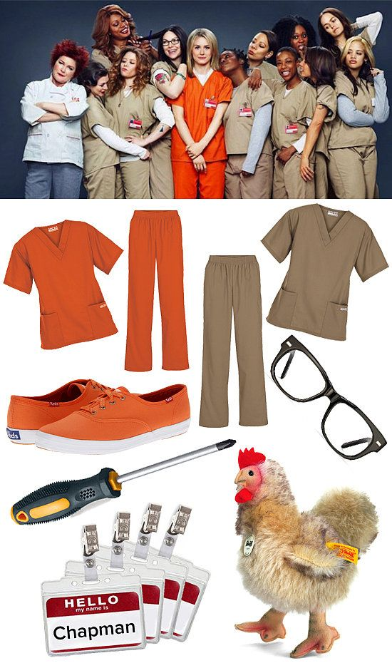 DIY Halloween Costume Orange Is the New Black...this is sooooo happening!!!