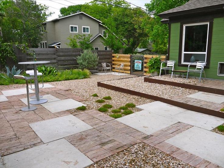 grassless backyard | projects | Pinterest on Grassless Garden Ideas  id=58196