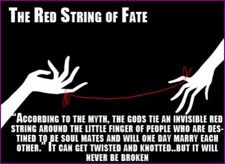 The Red String of Fate .... a legend or truth!! (5/6)