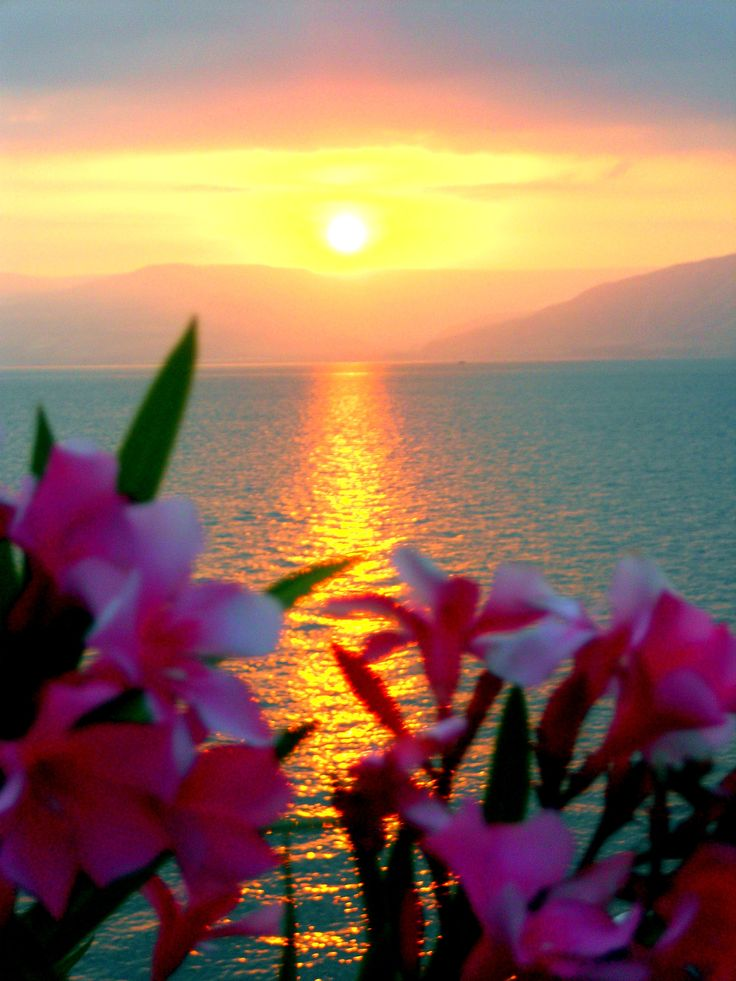 Sea of Galilee, Tiberias, Israel.