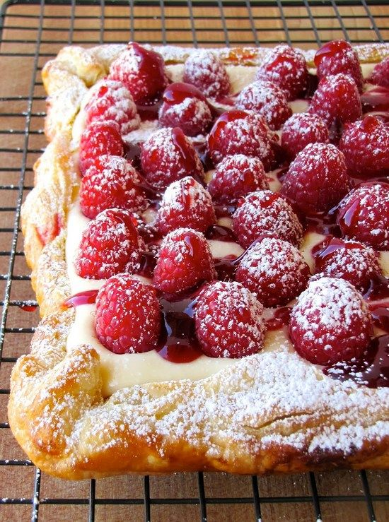 Rustic Raspberry Lemon Cheesecake Tart. The combination of flaky crust, creamy filling, and fresh fruit makes this dessert irresistible!