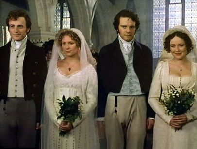 Image result for Pride and prejudice wedding