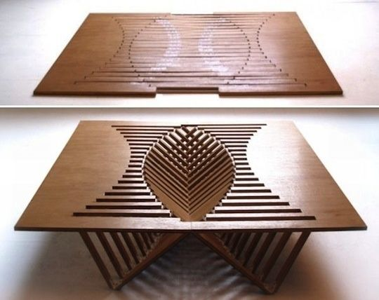 unique folding furniture wood pinterest on extraordinary creative wooden furniture design id=97221