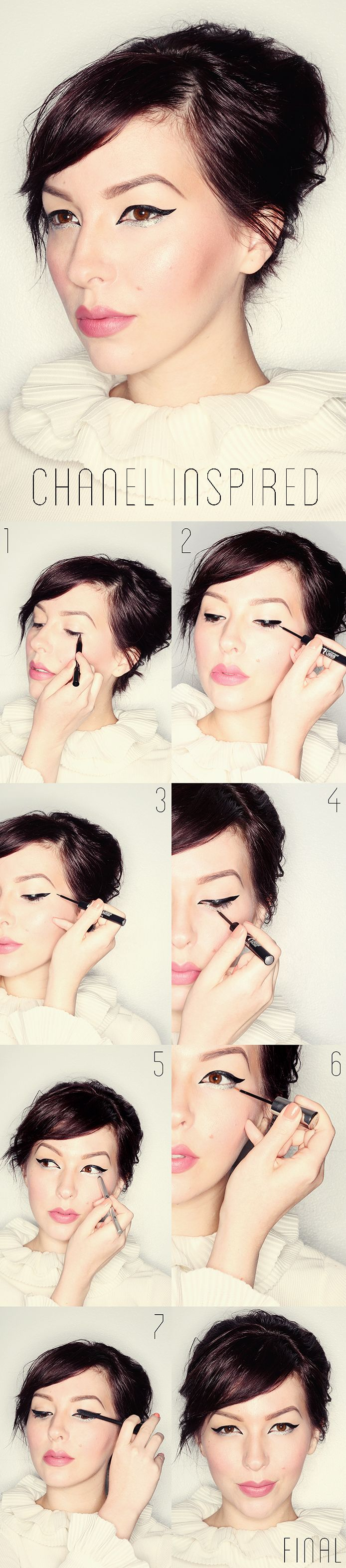 Makeup Monday: Recreate the Runway - Chanel Haute Couture