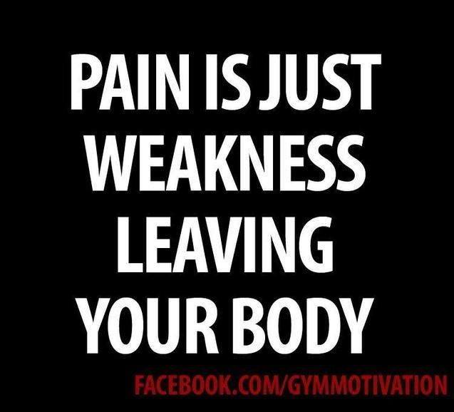 Saying this to myself over and over today! I'm hurting! lol