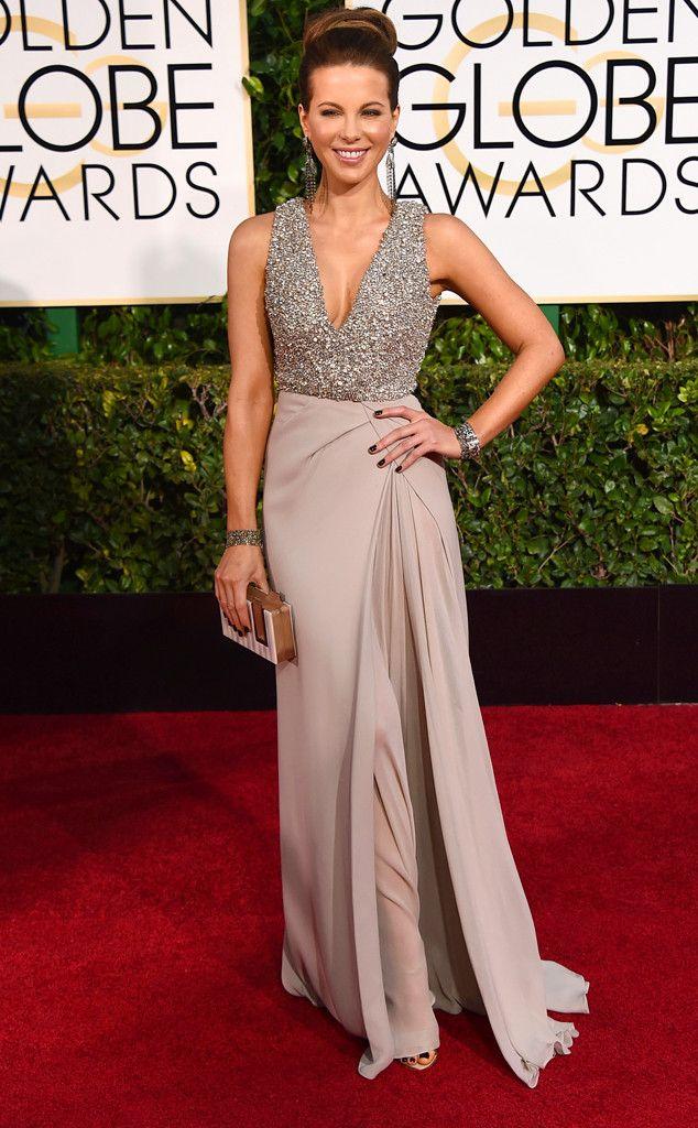 Kate Beckinsale from 2015 Golden Globes Red Carpet Arrivals   E! Online